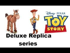 toy story movie replica deluxe talking vibrating bullseye and woody🚀🚒🚗 - YouTube