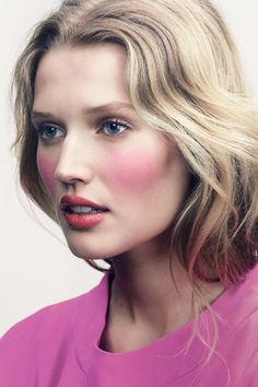 now that is a pink cheek #mirabellabeauty #pink #cheek