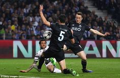 The former Barcelona defender scored the Italian side's second as they beat Porto 2-0...