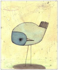 """Shy Bird"" - Philip Kirk"