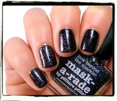 piCture pOlish - Mask-a-rade | Nailderella