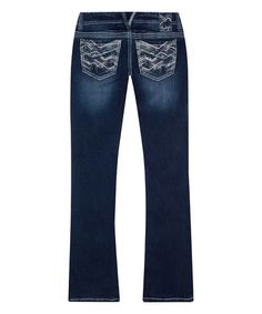 Another great find on #zulily! Dark Blue Delilah Tall Bootcut Jeans #zulilyfinds