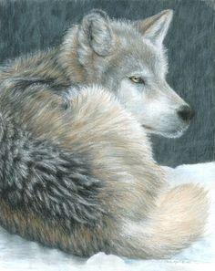 Cold Evening - Carla Kurt Art