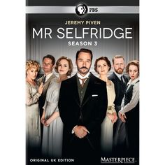 This mannered release from the period series MR. SELFRIDGE includes all 10…