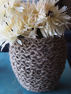 Woven Jar Cover Tutorial - Giveaway!