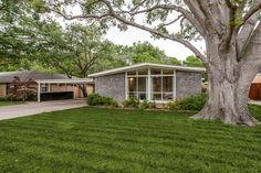 7136 Walling Lane, Dallas TX.  Built in 1959.