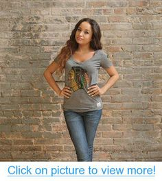 Chicago Blackhawks Grey Deep V-Neck Tri-Blend Shirt by Original Retro Brand