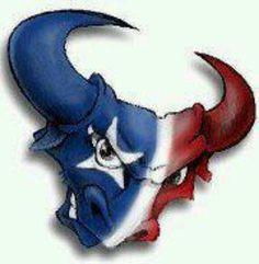Bulls on Parade ! Houston Texans Room, Houston Texans Funny, Houston Texans Nails, Houston Football Team, Texans Memes, Texans Logo, Houston Tx, Dallas Cowboys, Football Quilt