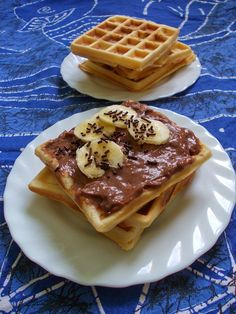 Borsó receptjei: Ropogós gofri Waffles, Vegetarian Recipes, Sandwiches, Breakfast, Food, Morning Coffee, Essen, Waffle, Meals