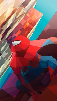Image for iphone spiderman wallpaper art Spiderman Kunst, All Spiderman, Amazing Spiderman, Marvel Characters, Marvel Heroes, Marvel Dc, Spider Verse, Illustrations, Art Design
