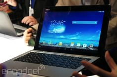 ASUS' Transformer Book Duet can switch between Android and Windows as a laptop or tablet (hands-on)