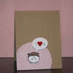 Parker&Molly: Paper Smooches Party Posse Hamster