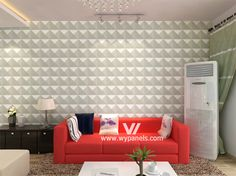 Textured Wall Panels in Living Room Bedroom WY-115