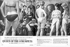 ADVENTURE, April 1962 , Art by Bruce Minney by SubtropicBob, via Flickr