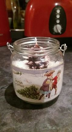 Jar, Christmas, Home Decor, Xmas, Decoration Home, Room Decor, Navidad, Noel, Home Interior Design