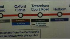Metro de Londres: La próxima parada es Somalia | Estoy en Londres - Consejos e información de como vivir y que cosas hacer en Londres