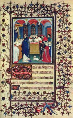 Meister des mariscal de Boucicaut - Iluminación medieval
