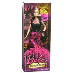 [Barbie] Barbie Mattel Year 2014 Halloween Series 12 Inch Doll HAPPY HALLOWEEN in Halloween Outfit with Purse Headband Necklace and [parallel import goods] - Most Wanted Christmas Toys Barbie Halloween, Halloween Toys, Halloween Outfits, Happy Halloween, Barbie Skipper, Barbie And Ken, Pink Streaks, Halloween Series, Vintage Barbie Dolls