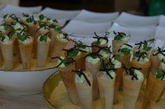 forelmousse / hoorntje / limoencreme https://www.facebook.com/catering.roos