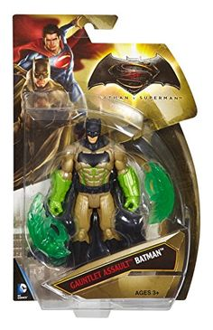 Batman v Superman Dawn of Justice Gauntlet Assault Batman 6 Figure ** Want additional info? Click on the image.