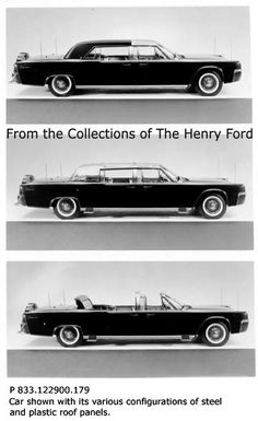 JFK Kennedy Presidental Ford Lincoln Continental Limo