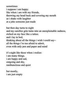sometimes things hurt ....