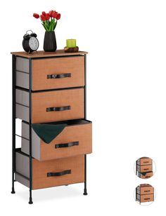Noir Rustique Cuisine Armoire Armoire Commode Coffre table accessoires