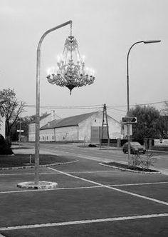 Chandelier Street Light