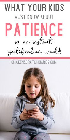 Why we must teach patience to an on-demand generation дети д Parenting Teenagers, Parenting Plan, Parenting Books, Gentle Parenting, Parenting Quotes, Parenting Classes, Anxiety In Children, Children With Autism, Parent Online