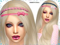 2 headbands edit at Candydoll Fashion via Sims 4 Updates