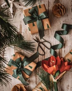 Cosy Winter, Flat Lay Photography, Christmas Mood, Christmas Inspiration, Gift Wrapping, Photo And Video, Gifts, Anna, Instagram