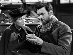 Greer Garson and Walter Pidgeon, Madame Curie (1943)