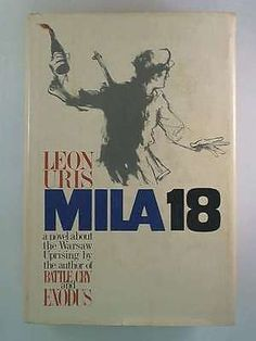 First edition of Mila 18 by Leon Uris, 1961.