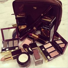oooh..TOM FORD makeup looks delectable!
