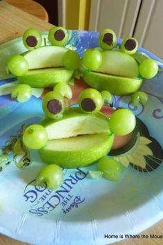 disney princess party food princess and the frog snacks