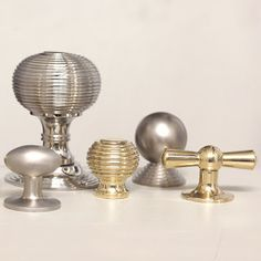 Our gorgeous new cabinet knobs and kitchen drawer pulls all at Willow & Stone