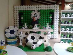 Cumpleaños de Ciro Rafael con la tematica de futbol...salio ...