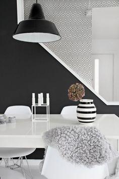 Wallpaper love. My dining room.