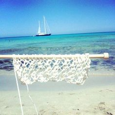 Calados & blanco by the sea #tejer #knitting
