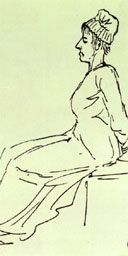 Art as propaganda - Marie-Antoinette portrayed as an old crone by David