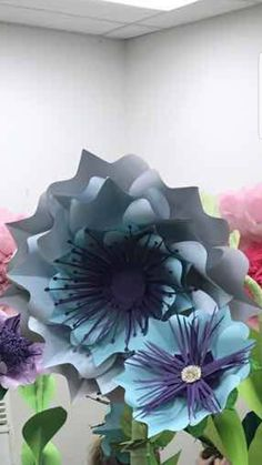 SVG Paper Flower template  digital file #47 by dielora on Etsy
