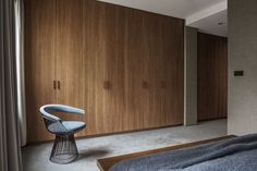 Wooden x Minimalist Interior Interior Design Studio: Liljencrantz Design Location: Stockholm, Sweden Photographer: Erik Lefvander