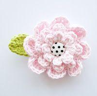 Annemarie's Haakblog: Flower Week: Flower #5!
