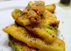 Οδηγίες για το τέλειο τηγανητό κολοκυθάκι! Greek Recipes, Starters, Appetizers, Potatoes, Meat, Chicken, Vegetables, Cooking, Food