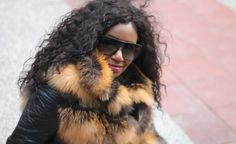 Cross Me, If You Dare. Hairstyles Haircuts, Cool Hairstyles, Street Style Looks, Memoirs, Fur Coat, Hair Cuts, Plus Size, Models, Glasses