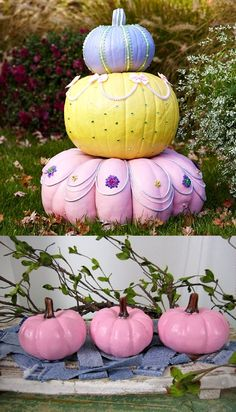 Pumpkins fit for the royal ball!