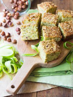 Recette ans gluten bio : Moelleux aux courgettes et noisettes