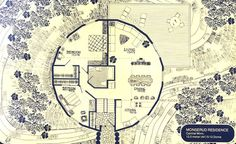 2 Dome House, Geodesic Dome, Round House, Coming Home, House Plans, Vintage World Maps, Floor Plans, House Design, How To Plan