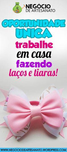 APRENDA PASSO A PASSO COMO FAZER LAÇOS PARA CABELO PARA VENDER E GANHAR ATÉ 6 MIL POR MÊS. CLIQUE NO PIN E SAIBA COMO. vender laços, vender laços na rua, como vender laços, fazer laços de fita, fazer laços de cabelo, fazer laços para o cabelo, fazer laços para o cabelo passo a passo #laçosetiaras #laçosdeluxo #laçospassoapasso #laçosdefita #comofazerlaços #venderlaços #vender #laços #na #rua #laçosparacabelo #laçosinfantis #fazerlaçosdefita #fazerlaçosdecabelo Foto/by… Minnie Mouse, How To Make Tiara, Make Hair Bows, Craft Business, Crafts