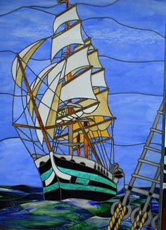 Sailing ship by Jim Hunt